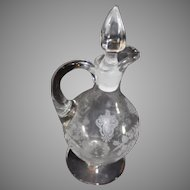 Rose Point Cambridge Short Cruet