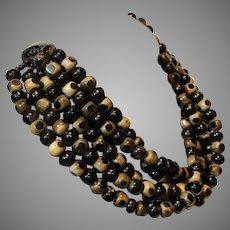 Vintage Bakelite Art Deco Style Necklace