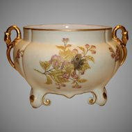 Antique Limoges Footed Console by Lingenberg 1880-1890s