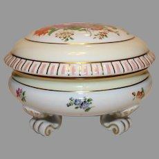 Austrian Hand Painted Porcelain Box