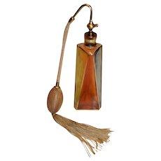 DeVilbiss Perfum Bottle Art Deco Style