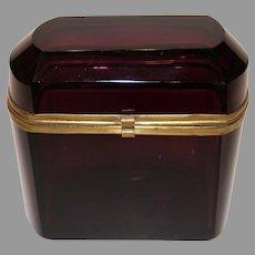 Amethyst Casket Box