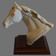 Bisque Kaiser Horse Head 1986