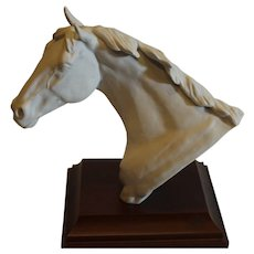 Bisque Kaiser Horse Head 1986