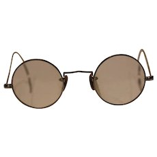 Antique Silver Colored Rim, Eye Glasses