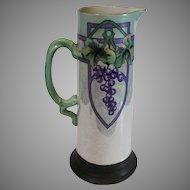 Antique Art Deco Style Limoges Tankard 1890