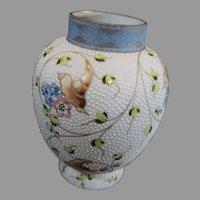 Mt Washington, Crown Milano Vase - circa 1890