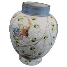 Mt Washington, Crown Milano Vase - circa 1890