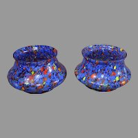 Czechoslovakian Art Glass Bowls (2) - 1930s
