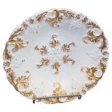 Antique Meissen Gold Encrusted Bowl - 1840-1865