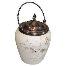Wavecrest Biscut Jar - 1890s - MINT
