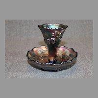 Northwood Carnival Glass Short Epergne 1910