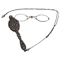 Antique Lorgnette Glasses