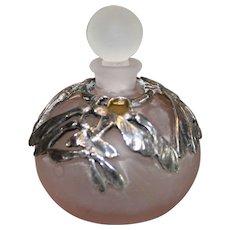 English Perfume Bottle with SP Ormolu - 1980