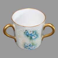 Miniature Royal Vienna Loving Cup - Vintage 1980s