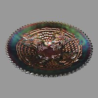 Northwood Grape and Cable Amethyst Bowl
