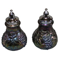 Imperial Glass Salt and Pepper - Amethyst