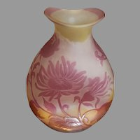 Emil Galle French Cameo Vase - circa 1890