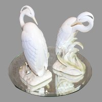 Vintage Fitz and Floyd Ceramic Birds - 1990s