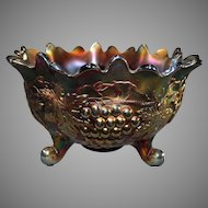Northwood Amethyst Grape and Cable Fruit Bowl