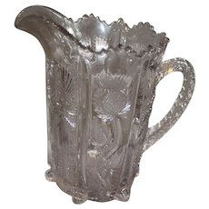 Paneled Thistle Water Pitcher - Higbee
