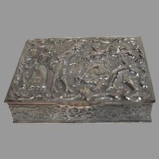 Wallace Silver Company Vintage Hinged Box EPNS - 1930s