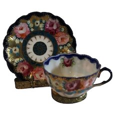 Hand Painted Vintage China Cup and Saucer