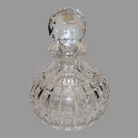Brilliant Cut Era Crystal Decanter - 1900s