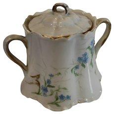 Theodor Haviland Covered Sugar Bowl - 1888-96