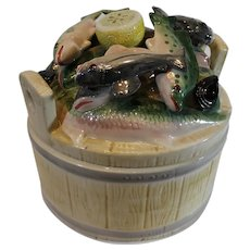 Vintage Italian Fish Bowl by Horchow