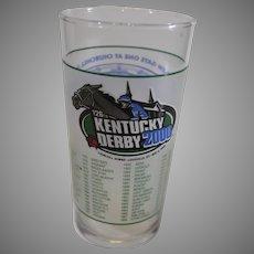 Kentucky Derby Mint Julep - 2000 - 126th Event