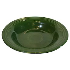 Genuine Fiesta Green Serving Bowl - 1950s