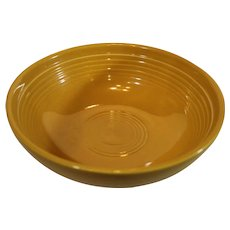 Vintage Fiesta Serving Bowl - Small Yellow - 1950s