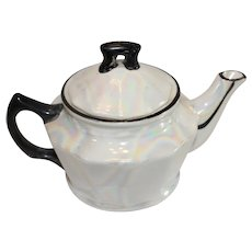 Lusterware Czechoslovokian Tea Pot - 1918-38