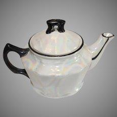 Lusterware Czechoslovokian Tea Pot - 1918-38