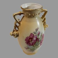 Art Nouveau Austrian Pottery Vase from the late 1800s
