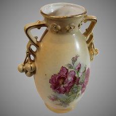Art Nouveau Austrian Pottery Vase from the late 1800s