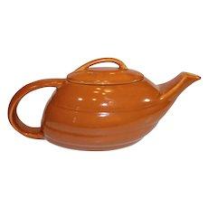 Bauer Aladdin GPK Teapot - Brown- 1940s