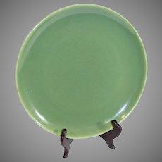 Bauer Green Monterray Plate - 1940s