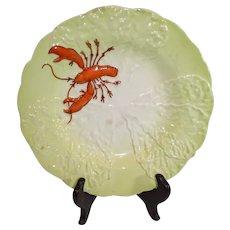 Carltonware Handpainted Lobster Plate - 1940s