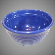 Bauer Multiring Cobalt Blue Mixing Bowl - 7 1/2 inches