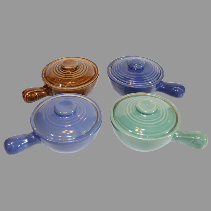 Not just for soup anymore!! Vintage Japanese Onion Soup Bowls