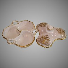 Covered Cambridge Crown Tuscan Portia 3 Compartemt Covered Dish