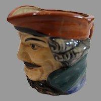 Japanese Porcelain Hand Painted Captain Creamer - c. 1930-40s