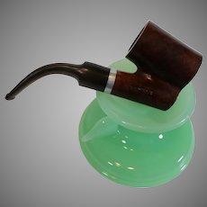 LHS 75 Big Dipper Burl Smoking Pipe - Vinatage