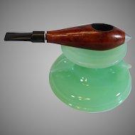 Vintage Jet Pipe - Imported Briar Smoking Pipe