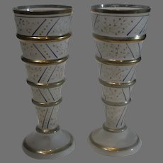 Czechoslovakian Art Glass Vases - 1918-1938