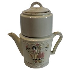 Porcelier Tea Pot Brewer - 1930s