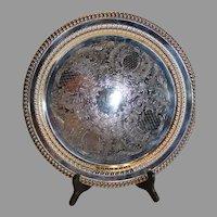 Leonard Silver Plate Serving Tray - 1969-78