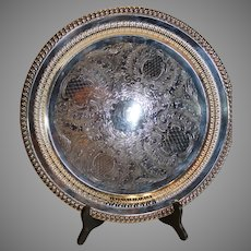 Leonard Silver Plate Serving Tray - 1969-78